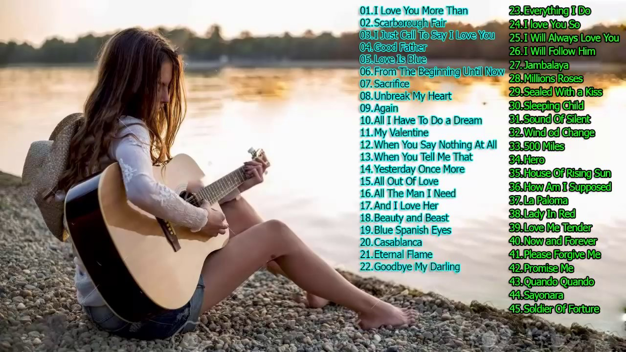 3 Hours Relaxing Guitar Music – Top 50 Romantic Guitar Instrumental Love Songs