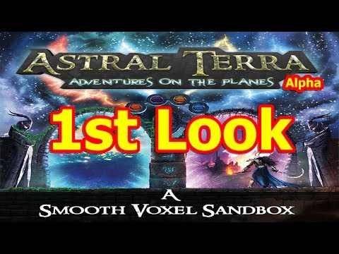 Astral Terra Gameplay (Alpha) | Indie Fantasy-Themed Voxel Sandbox RPG