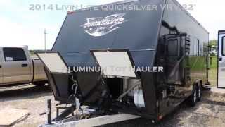10. 2014 Livin Lite Quicksilver 22' Toy Hauler www.tilburyautosales.com