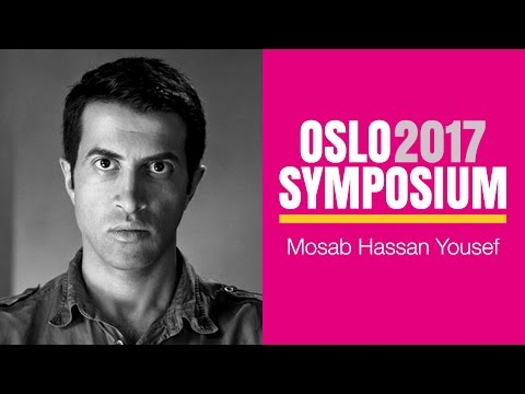 Mosab Hassan Yousefs tale på Oslo Symposium 2017