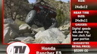 5. ATV Television - 2003 Honda Rancher ES 4x4 Test