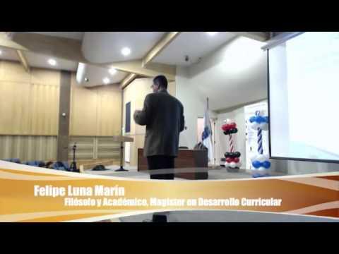 Felipe Luna Marín en Seminario Branding Digital Personas y Éxito en UBB