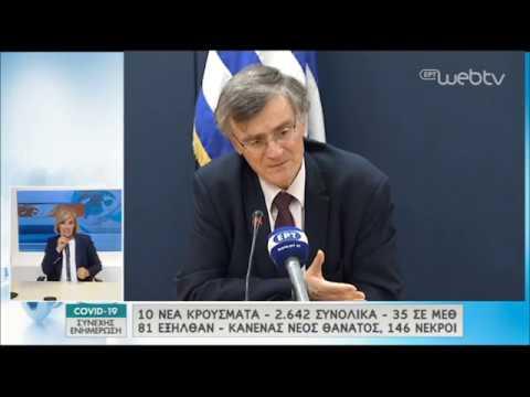 Ο Τσιόδρας εξηγεί τη λογική καταγραφής θανάτων στην Ελλάδα | 05/05/2020 | ΕΡΤ