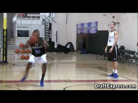 Thomas Robinson DraftExpress 2011 adidas Nations Interview & Practice Footage