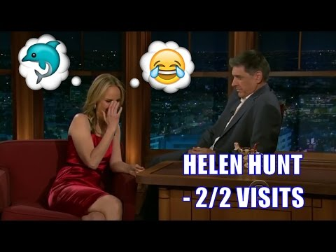 Helen Hunt - Tears Up Laughing When Craig Mentions Shark Penii - 2/2 Appearances In Chron. Order