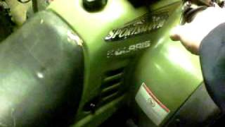 7. 2002 Polaris Sportsman 90cc ATV