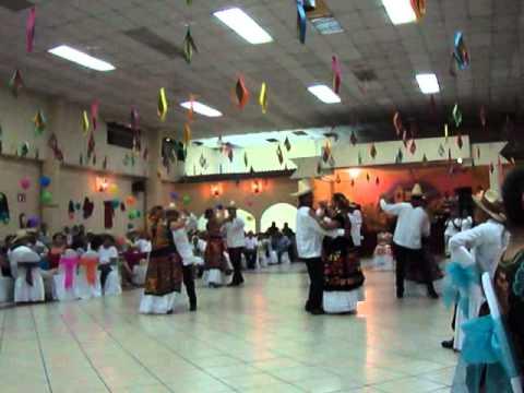 baile la polca Tehuana