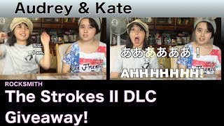 """Audrey & Kate talk about The Strokes II  DLC Giveaway for ROCKSMITH!! It's giveaway again! Please leave a comment and 1 LUCKY winner will be given a STEAM CODE!  Please note that it is ONLY for STEAM (PC/MAC) and NOT CONSOLES.)Thanks so much for watching!!!コメントを書かれた方の中から、先日発売されたロックスミスの      The Strokes II  DLC  for STEAM版 (PC/MAC) を1名様にプレゼントします。Thanks so much for watching!!!""""Someday"""" – E Standard – Lead/Rhythm/Bass""""You Only Live Once"""" – E Standard – Lead/Rhythm/Bass""""Taken For A Fool"""" – E Standard –Lead/Rhythm; Drop D - Bass""""12:51"""" – E Standard –Lead/Rhythm/BassFor more information, visit http://www.rocksmith.com"""
