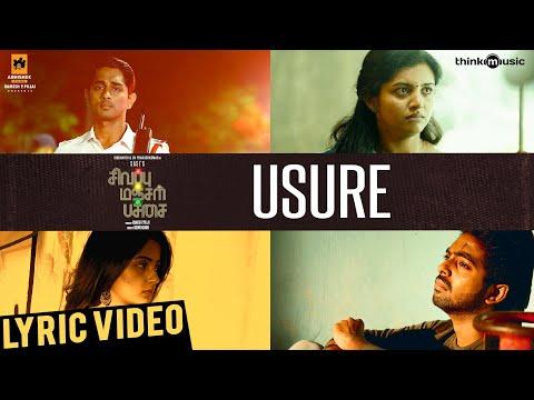 Sivappu Manjal Pachai | Usure Song Lyric Video