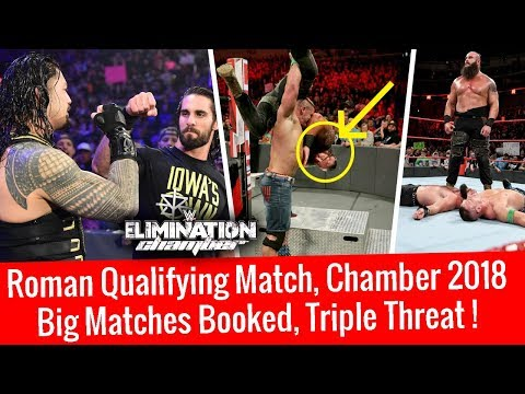 Major Updates Chamber 2018 ! Huge Triple Threat Match ! Roman Qualifies WWE Raw 2/5/18 Highlights
