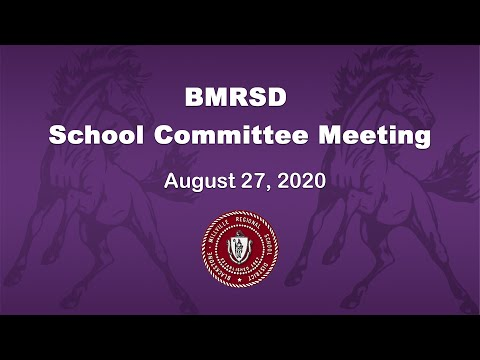 BMRSD SC Meeting 82720