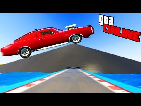 СИЛЬНО НАКЛОННАЯ ГОНКА НА НОВОЙ МАШИНЕ! (GTA 5 ONLINE ГОНКИ) (видео)