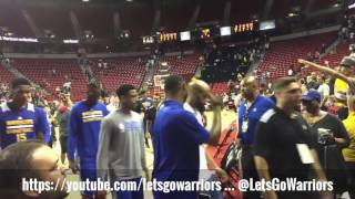 """RECAP: http://thesportsdaily.com/lets-go-warriors/warriors-0-3-lose-in-sudden-death-to-minnesota-timberwolves-2-1-bell-blocks-6-shots-final-recap-with-highlights/Check out our Snapchat and Instagram: """"letsgowarriors"""" for the latest moments -- sometimes livestreamed! --  with the Warriors. Also LetsGoWarriors.com for previews, highlights, and recaps!"""