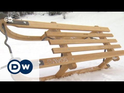 Traditional sleds from Davos | Euromaxx