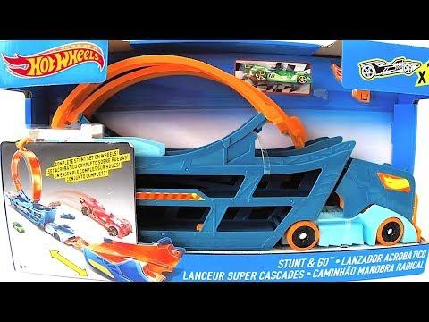 Hot Wheels Caminhão Manobra Radical Acrobático - Carrinhos de Brinquedos