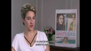American actress Shailene Woodley talks about her 2014 film White Bird In A Blizzard.