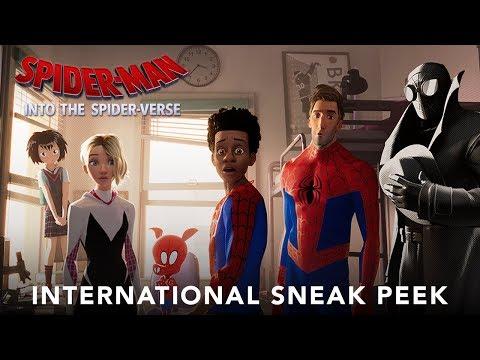 SPIDER-MAN: INTO THE SPIDER-VERSE – International Extended Sneak Peek