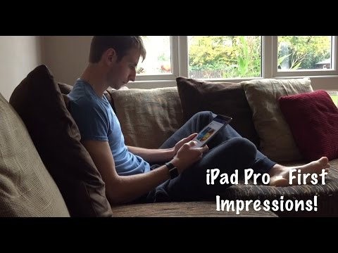 iPad Pro First Impressions | Jack Shilley | Review
