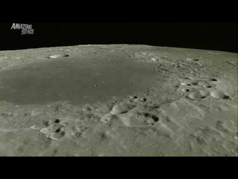 A journey across the moon - Incredible video of the lunar surface