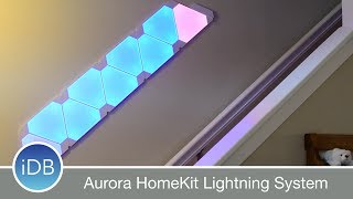 Learn More: http://amzn.to/2v0pcdDPurchase from Nanoleaf: https://us-shop.nanoleaf.meAurora from Nanoleaf consists of a series of LED panels that can be easily scheduled and controlled from HomeKit with a variety of different effects.~~Visit us at iDownloadBlog.com for more Apple news and videos!Download the free iDB app for the latest news! https://goo.gl/bY6OvS~~#Social:http://www.twitter.com/iDownloadBloghttp://www.facebook.com/iDownloadBloghttp://www.twitter.com/Andrew_OSU