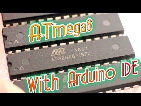 ATmega8 bootloader, code, Arduino IDE