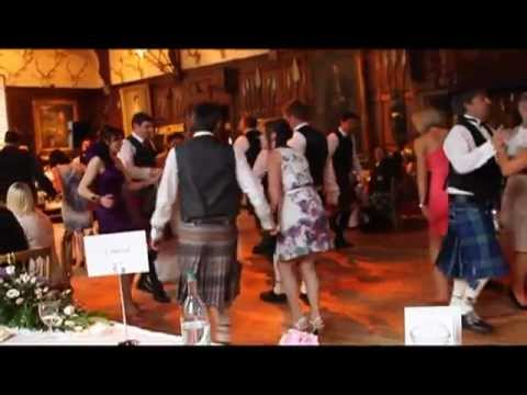 Traditional Ceilidh Dancing at a Scottish Wedding
