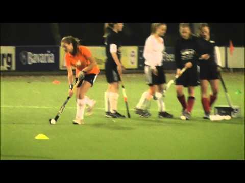 Carline Field Hockey Training