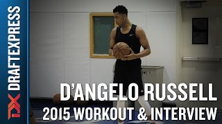 D'Angelo Russell 2015 NBA Draft Workout Video