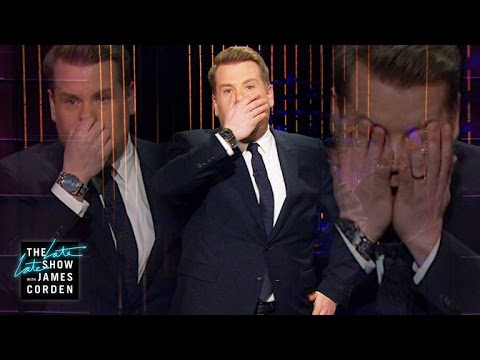 James Corden keeps repeating his Monologue (Groundhog Day)
