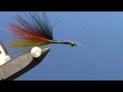 Thin Mint Streamer - Fly Tying Video (видео)