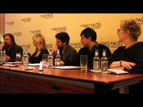 The Two Faces Of January I Press Conference I Film-News.co.uk