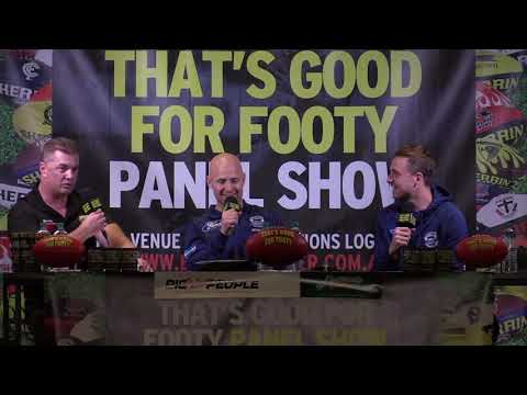 "Footy Show ""That's Good For Footy"" Presents Footy Funatics "" Ep 12 June 13th 2018 Geelong"
