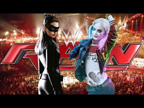 WWE 2K16 - Catwomen VS Harley Quinn