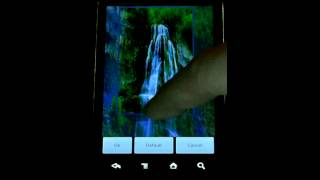 Waterfall Live Wallpaper YouTube video
