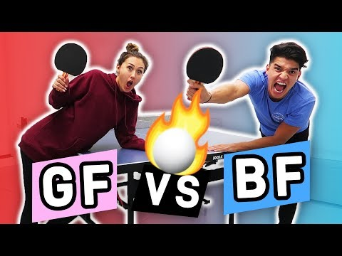 GF vs BF PING PONG BATTLE! (Intense)