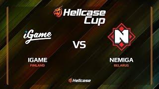 iGame vs Nemiga, mirage, Hellcase Cup 6