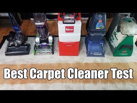 Best Carpet Cleaning Machines Tested - 2018