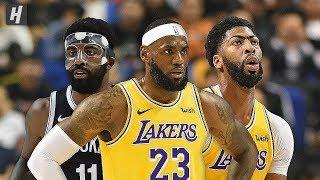 Los Angeles Lakers vs Brooklyn Nets - Full Game Highlights   October 10, 2019   2019 NBA Preseason