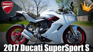 1. 2017 Ducati SuperSport S | First Ride & Review