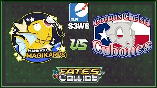 Pokemon TCG - MLPB S3W4 MANKATO MAGIKARP VS CORPUS CHRISTI CUBONES by Papa Blastoise