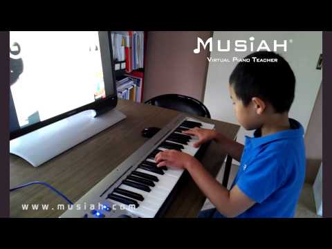 "Piano Video: Online Piano Lesson #119 ""Sarabande"" played by George"