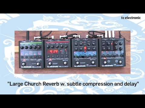 TC Electronic Nova pedals demo with Richard Morse