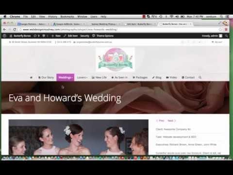 WordPress Tutorial Video for 'The 7' WordPress Theme