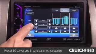 Find out if theJVC KW-V30BT fits your car at http://www.crutchfield.com/i-rYTVc0EH/p_105KWV30B/JVC-KW-V30BT.html JVC's...