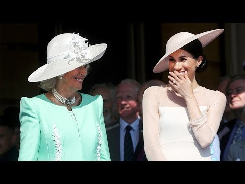 """Camilla Has Been a """"Pillar of Support"""" to Harry and Meghan  - News"""