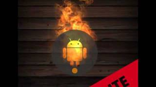 Droid on Fire LWP Lite YouTube video