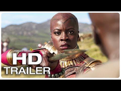 BLACK PANTHER Movie Clip Wakanda Final Battle Scene + Trailer (2018) Superhero Movie Trailer HD