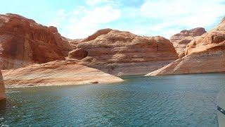Lake Powell (UT) United States  city photo : Daytrip Rainbow Bridge Boatride at Wahweap Marina Lake Powell Page Arizona Utah USA Travel Tip Video