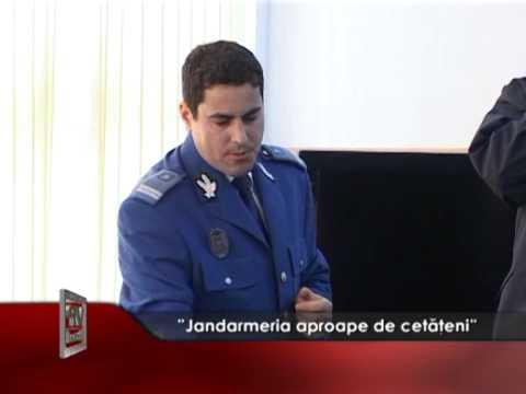 """""""Jandarmeria aproape de cetățeni"""""""