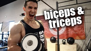 AVOIR DES GROS BRAS RAPIDEMENT ! (biceps & triceps exercices)